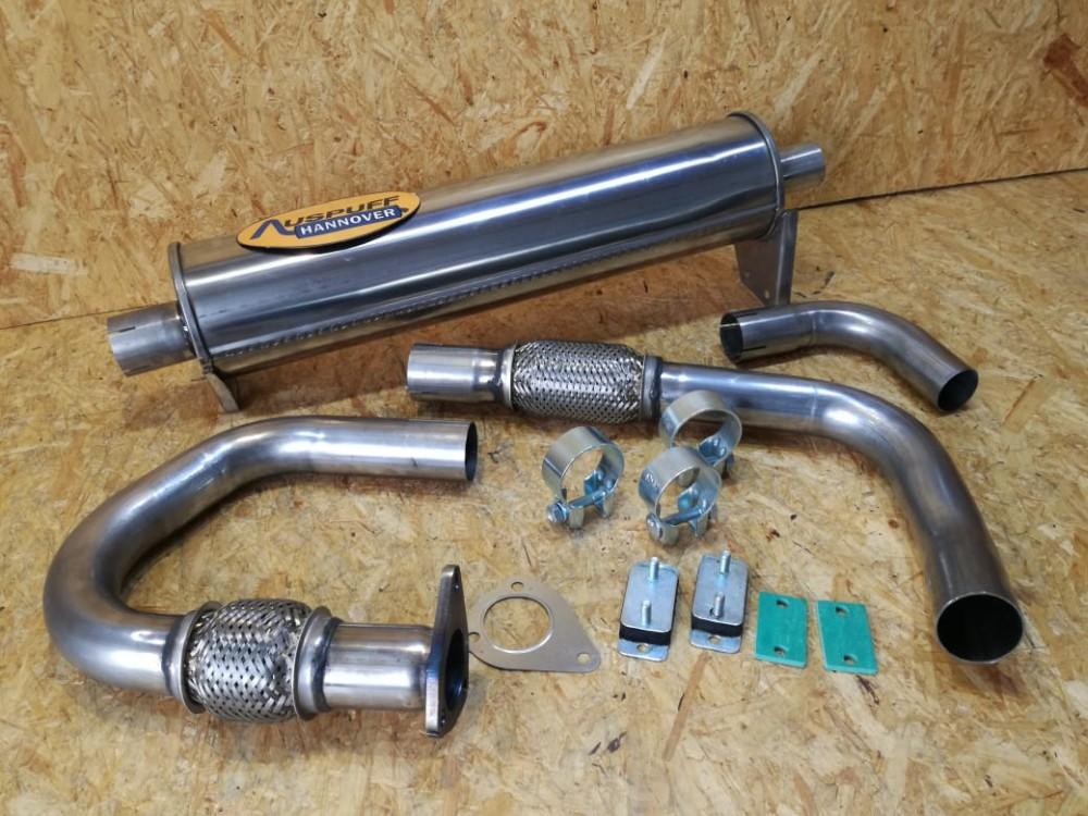 1.6 TD Syncro JX  Hosenrohr Auspuff VW T3  1.6 TD